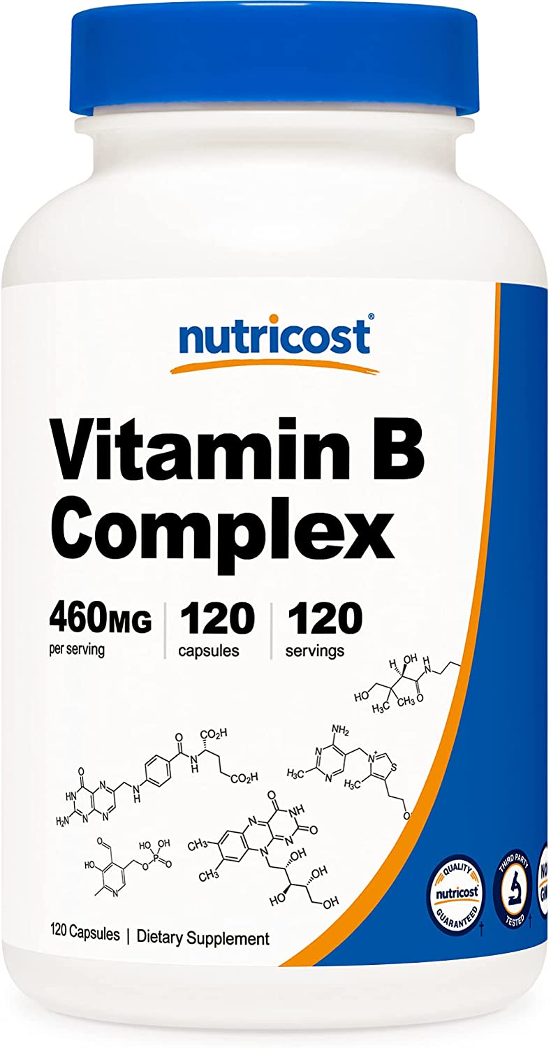 Nutricost High Potency Vitamin B Al sold out. Challenge the lowest price of Japan ☆ Complex w 120 Capsules 460mg -