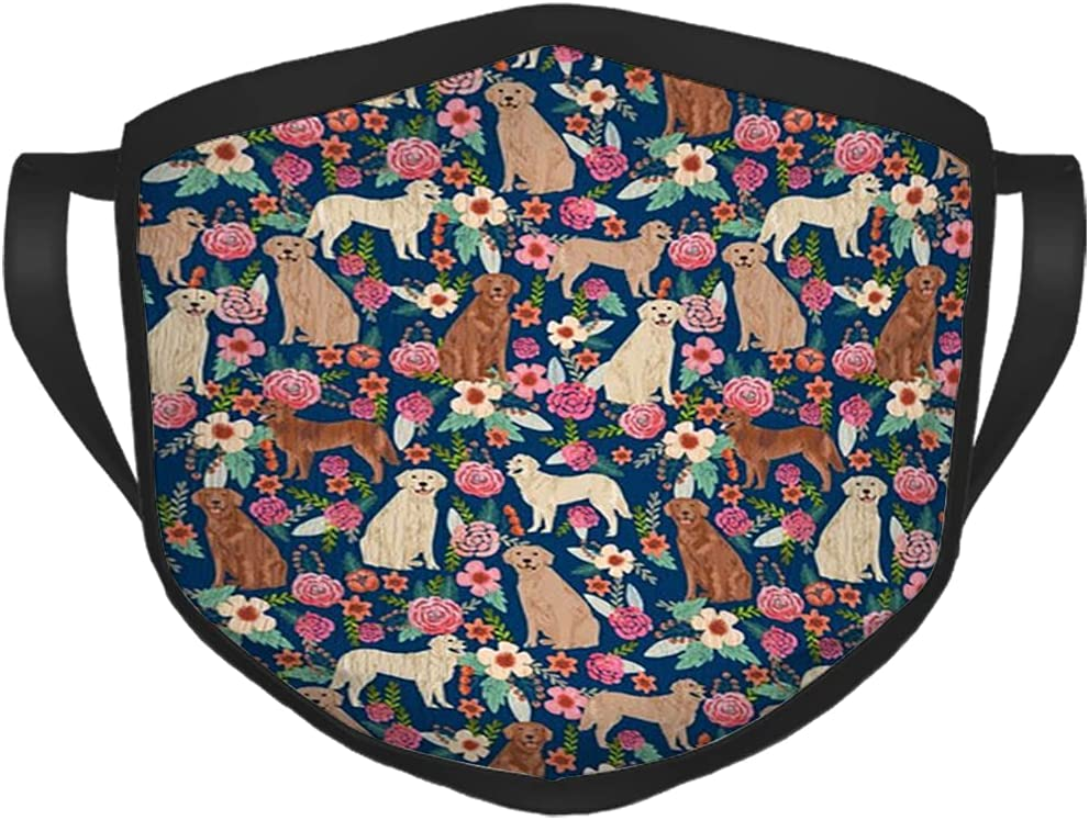 LAVYINGY Golden Retriever SALENEW very popular Florals Mixed Navy Comfort Colors Limited time sale Coat