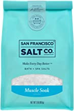 Muscle Soak Bath Salts - 2 lb. Luxury Gift Bag by San Francisco Salt Company