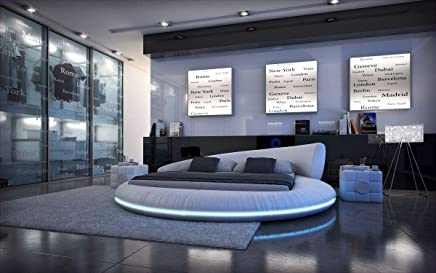Camere Da Letto Moderne Con Letto Rotondo.Amazon It Letto Rotondo Camera Da Letto Arredamento Casa E Cucina