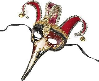 Halloween Mask,Christmas Mask,Small Long Nose Creative Mask,Venetian Mask,Halloween Party Mask