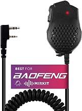 Original Baofeng UV-82 2 Dual PTT Speaker Mic Microphone for Baofeng UV-82 UV-82HP GT-5TP Portable Radio Walkie Talkie Ham...