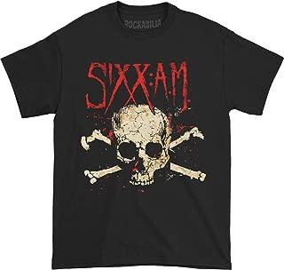 Sixx A.M. Men's Darkness Skull T-Shirt Black