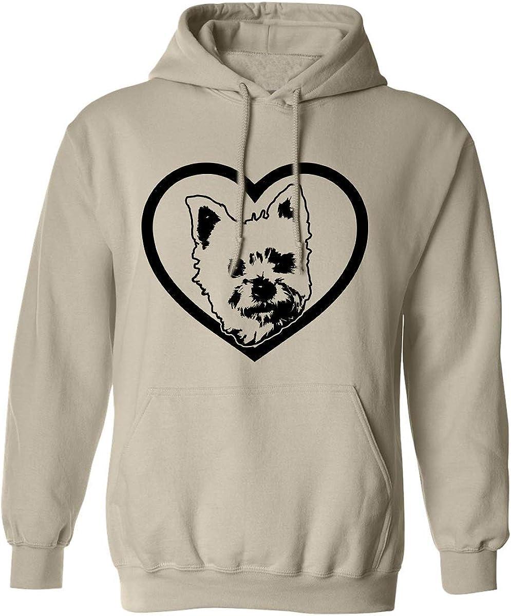 YORKIE Adult Hooded Sweatshirt