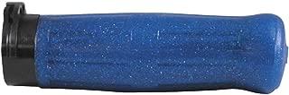 Avon Grips OLD-69-SBLUE Old School Grip - H-D with Throttle Slide - Coke Bottle Blue Spark
