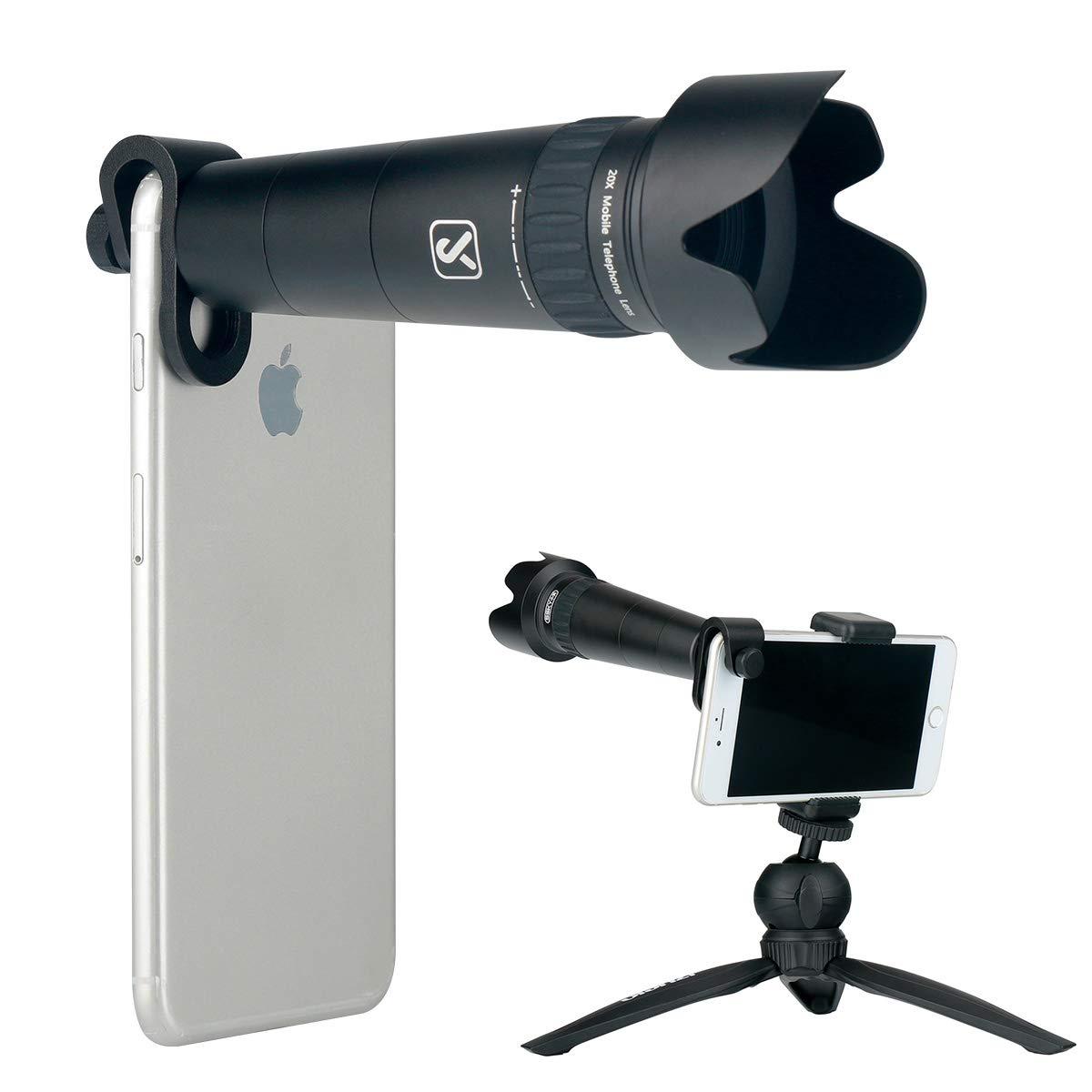 Yiliwit - Kit de Lentes para cámara de teléfono Celular con Zoom ...