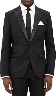 New Mens 2 Button Black Tuxedo Suit - Includes Jacket and Pants