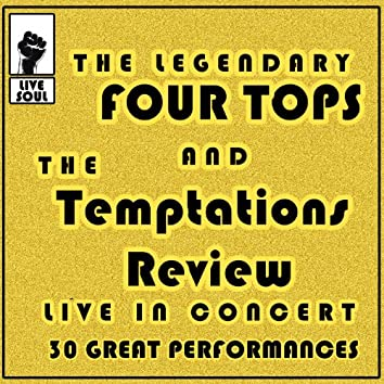 The Legendary Four Tops and The Temptations Review: Live in Concert 30 Great Performances