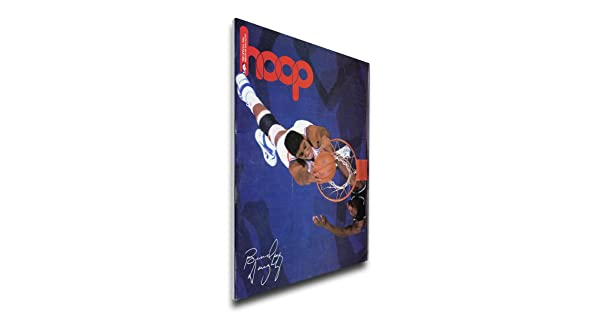 Regular Thats My Ticket NBA Cleveland Cavaliers Brad Daugherty 1988 Game Canvas Program Cover