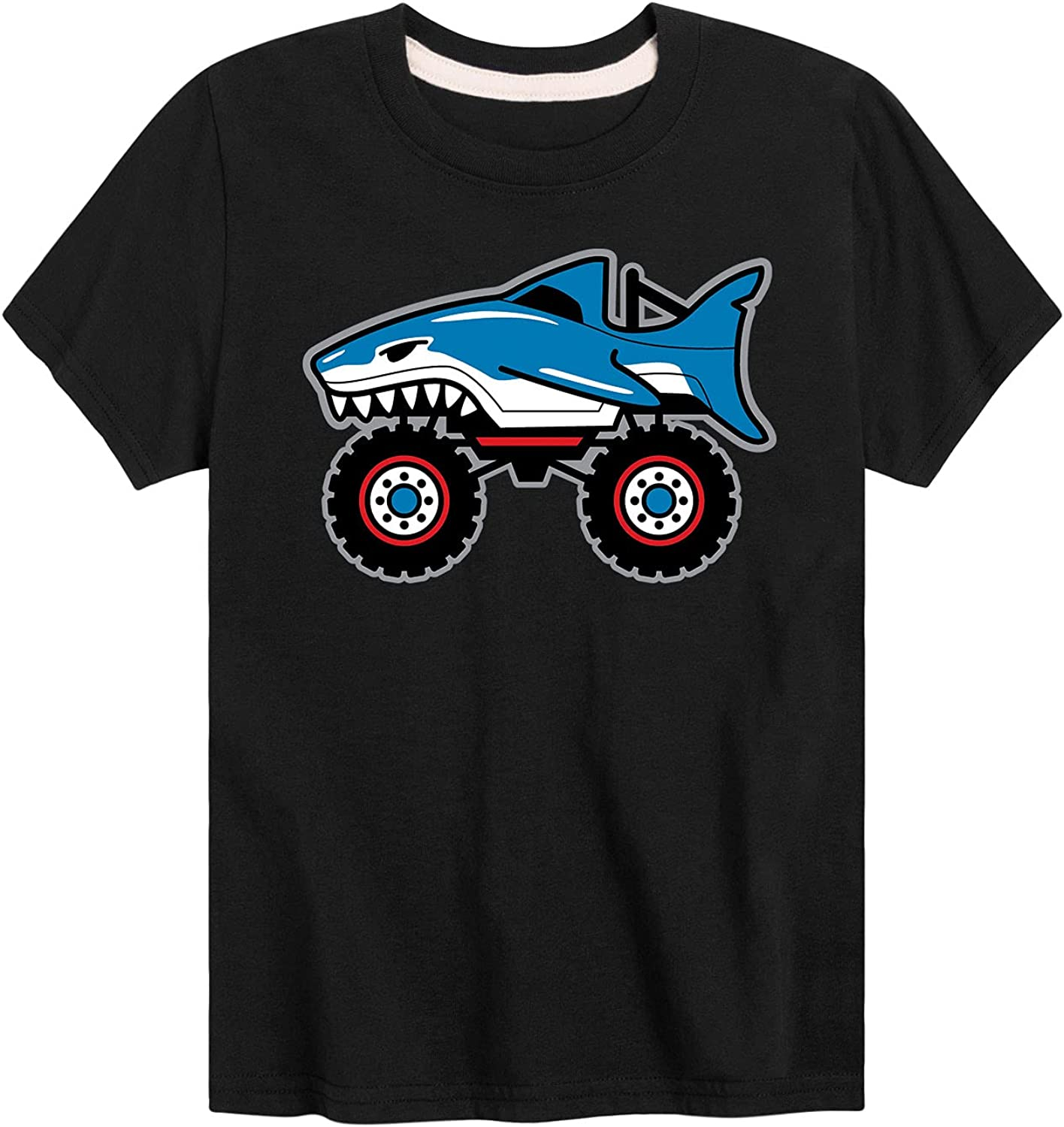 Shark Truck - Toddler and Youth Short Sleeve T-Shirt