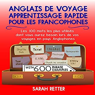 Anglais de voyage: Apprentissage rapide pour les francophones [Travel English: Fast Learning for French Speakers] cover art