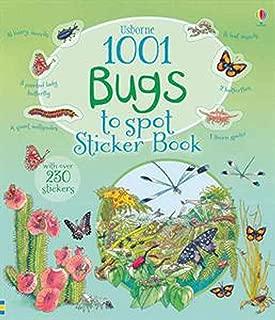 Usborne Books 1001 Bugs to Spot Sticker Book