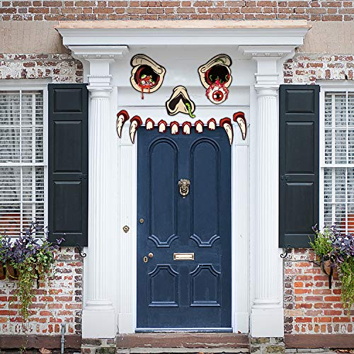 Joyjoz Decorazione di Halloween-Monster Face Decorazione per...