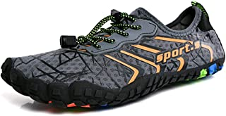 FZUU Water Shoes Mens Womens Quick Dry Mesh Barefoot Swim Diving Surf Aqua Sports Pool Beach Shoes