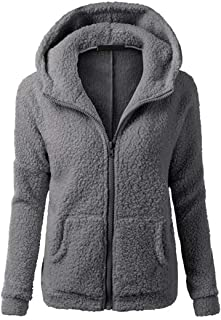 Women Hoodie Women Jacket Elegant Zipper Solid Color Comfortable Fashionable Tops Autumn and Winter New All-Match Fashion ...
