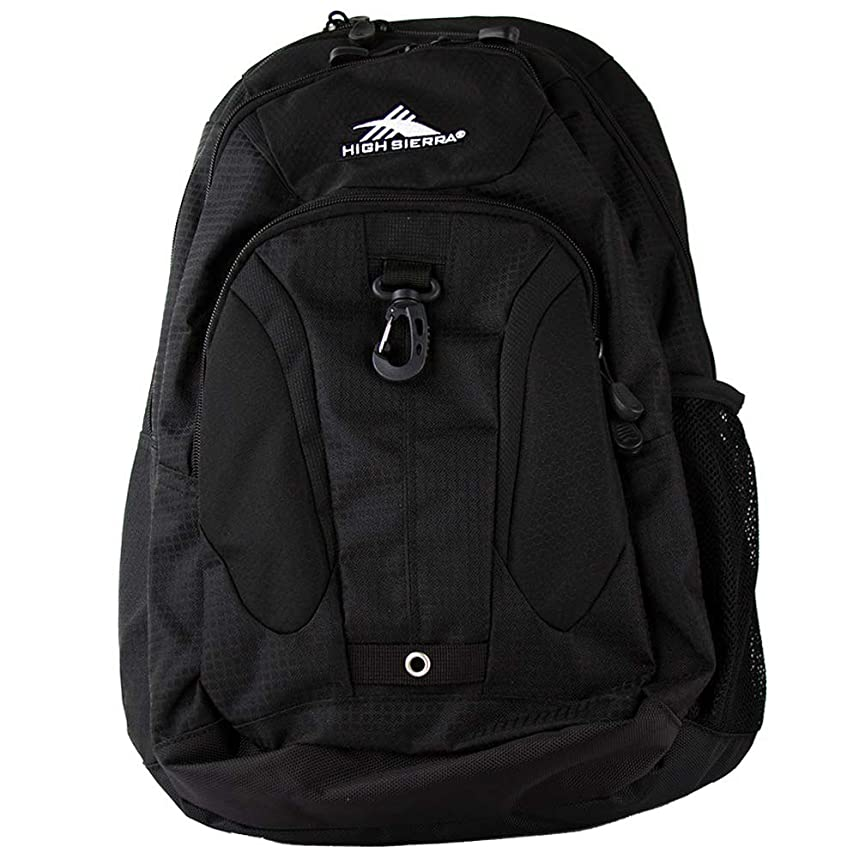 High Sierra Riprap Deluxe Padded Backpack Laptop Mp3 Cell Phone Pockets