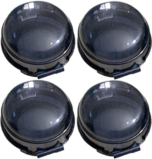 Sécurité de gaz Shields Poêle Poêle Bouton Protecteur Protecteur de sécurité pour enfants pour la cuisinière Knob Guard 4P...