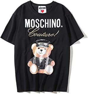 Moschino Winnie The Pooh Short Sleeve T-shirt Lady Tee For Women and Girl