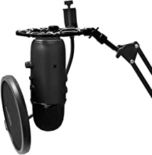 Black Shock Mount Compatible With Blue Yeti Mic