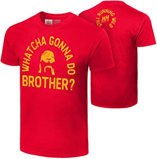 WWE Hulk Hogan Whatcha Gonna Do Brother? Authentic T-Shirt