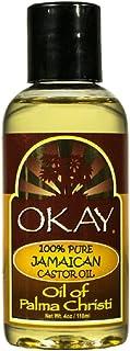 OKAY | Jamaican Castor Oil | For All Hair & Skin Types | Soothe Scalp & Skin | Grow Strong Healthy Hair | 100% Pure | 4 oz