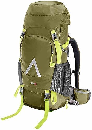 Sacs à dos Everyday Home Shoulders Alpinisme Sacs 60L Grande capacité en Plein air randonnée imperméable à l'eau par Le Biais