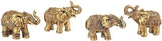 GSC Set of 4 Thai Elephant Collectible Statue Figurine Decoration Decor