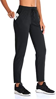 SEVEGO Women's Joggers with Pockets Drawstring Lounge Workout Yoga Running Track Pants