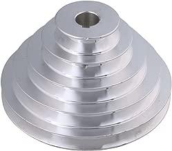 54 mm a 150 mm Diámetro exterior 20 mm de diámetro interior 12.7 mm Aluminio 5 pasos modular de cinturón de poleas para tipo A Correa dentada de correa en V