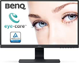 BenQ GW2480 24-inch (60.96 cm) Eye Care Monitor, IPS Panel with VGA, HDMI, Audio in, Headphone Ports and in-Built Speakers, with Adaptive Brightness Technology - M353231 (Black)