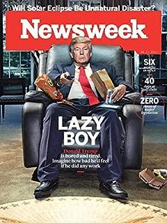 newsweek lazy boy donald trump