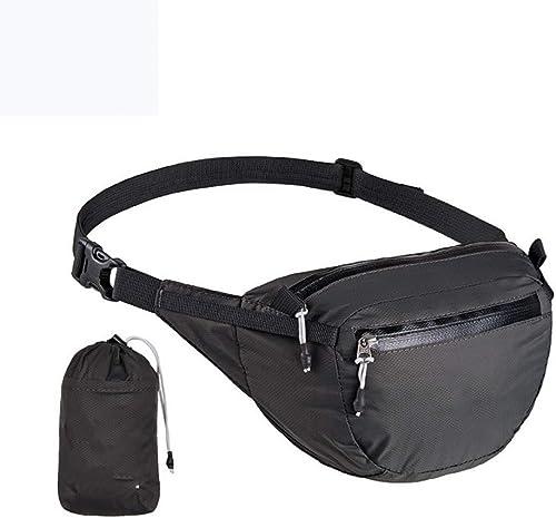 KJICSGF Sac à Dos Sac de Taille pour Femmes Sport Outdoor Tactical Bag Voyage Randonnée pédestre Cyclisme Hommes Taille Pack Sac Imperméable Unisexe Camping