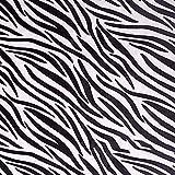 Leoparden-/Zebra-Muster Polyesterstoff Polsterstoff zum