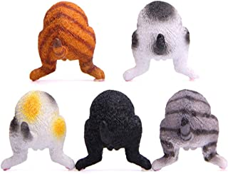 boxoon 5PCS Cat Butt Refrigerator Magnets Creative Refrigerator Decor Magnets Fridge Magnets