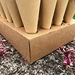 jweemax dried rose petals, confetti dried flowers and cone stand box traypetals for wedding party
