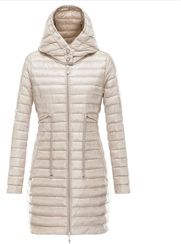 YANXH The New Hooded down Jacket Women Winter warm In the long part coat