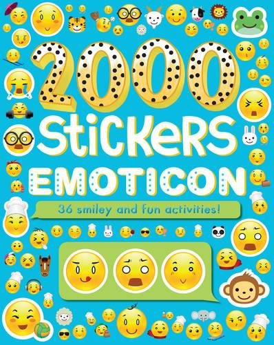 2000 Stickers Emoticon: 36 Smiley and Fun Activities