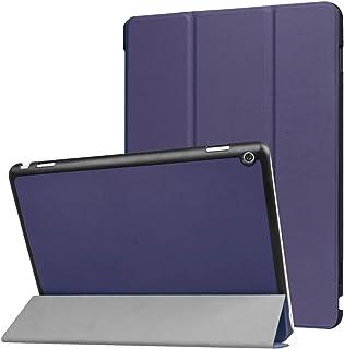 Huawei MediaPad M3 Lite 10.0 Funda y # xFF0 C; Xinda Ultra Slim Tri-fold Funda de piel con soporte para Huawei MediaPad M3 Lite 10.0 Tablet (función de encendido/apagado)