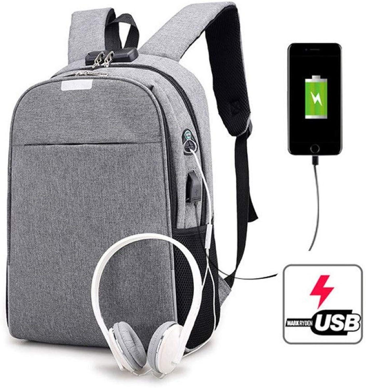 HUYANNABAO Men Business Laptop Bag Travel Backpacks Portable Casual Business Oxford Teenagers Shoulder Students Bag