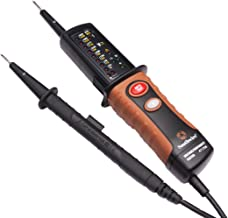Southwire Tools & Equipment 41170S Voltage, Continuity, and Phase Rotation Tester with Built-in LED Flashlight