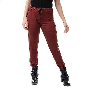 Andora Heather Drawstring Elastic Waist Sweatpants for Women