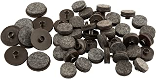 Nail-On Heavy Duty Felt Pads for Wood Furniture and Hard...