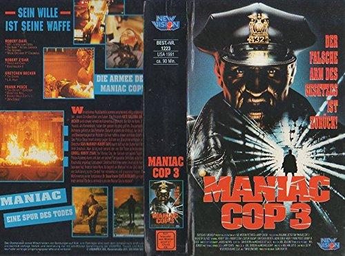 Maniac Cop 3 VHS