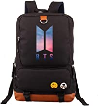 Asdfnfa Backpack, Men and Women Couple Rucksack Travel Packet Computer Package Student School Bag (Color : Black)