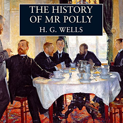 The History of Mr Polly audiobook cover art