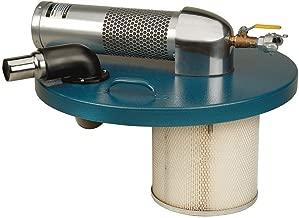 Guardair Pneumatic Vacuum Generating Head N551BK for Top of 55 Gallon Drum, B Venturi, 2