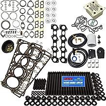 6.4L Revive Kit #4 w/ARP Studs Head Gaskets Oil Cooler Int & Exh Gaskets Coolant Filtration Kit Degas Cap - Fits Ford 6.4L 6.4 Powerstroke Kit - 2008-2010 - DK Engine Parts