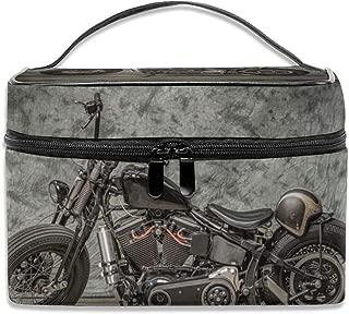 Travel Makeup Case Harley Davidson Motorcycle Cosmetic Bag Organizer Portable 9