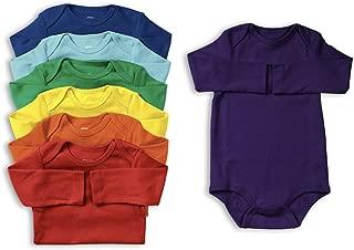 Baby Unisex Long Sleeve All Cotton Bodysuit 7-Pack