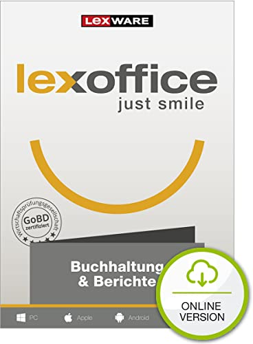 LexOffice Buchhaltung + Berichte - Jahreslizenz [Online Code]